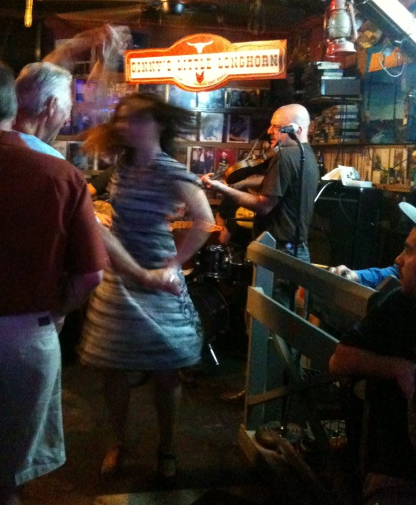 Ginny's Little Longhorn Saloon band.